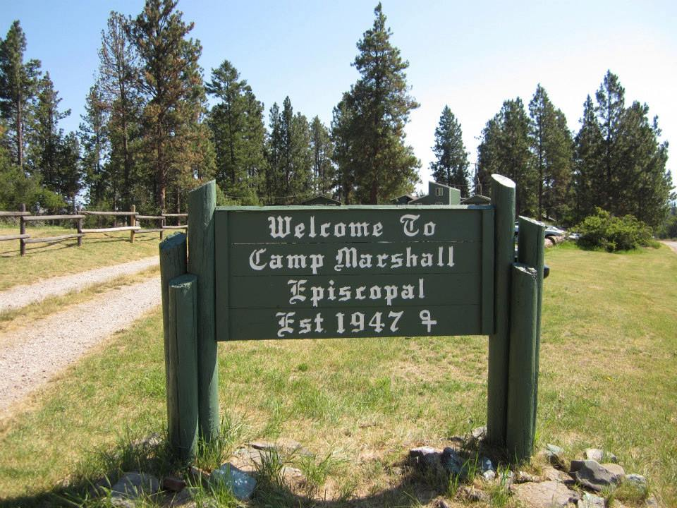 Camp Marshall sign