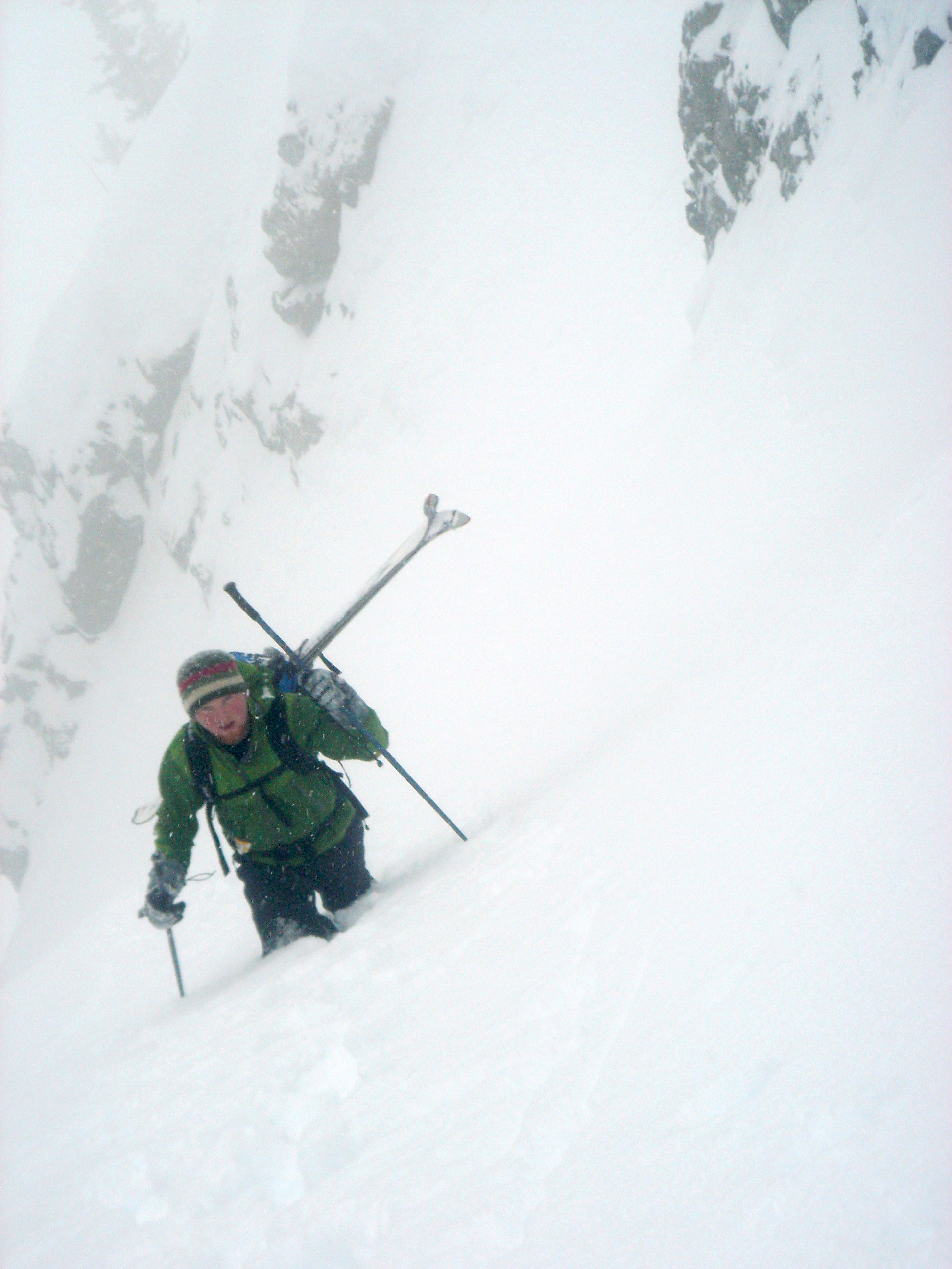 Kessler Peak East Couloir Wasatch