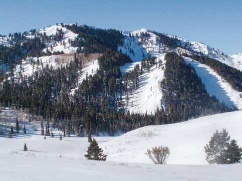 More northern Wasatch ski terrain