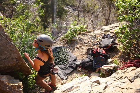 The crag scene