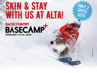 BACKCOUNTRY BASECAMP+ ALTA Immersive Skin & Stay