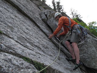 Start Trad Climbing Early