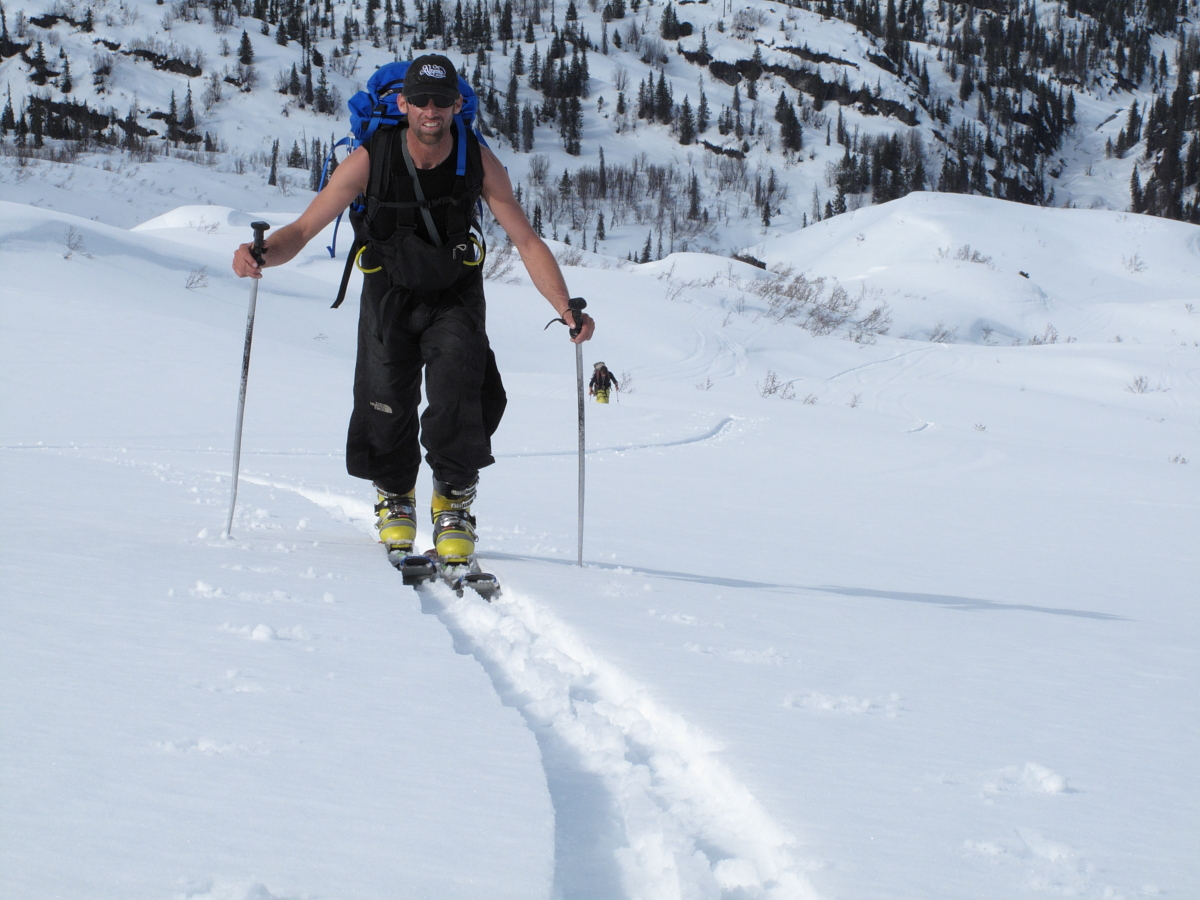 Earning the Chugach while touring
