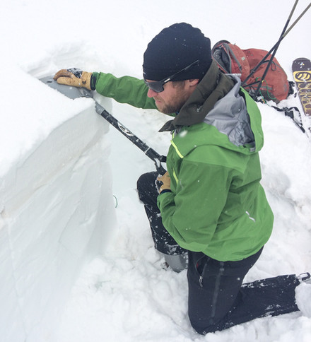 How do we apply snowpit findings to our decisions made?