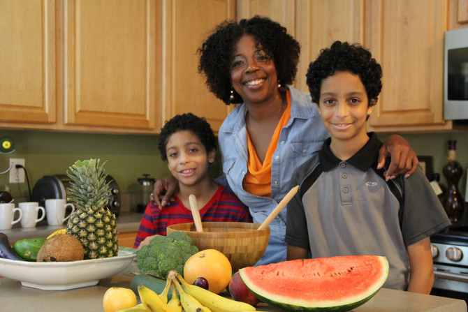 Smart Kids Eat Healthy and Move More