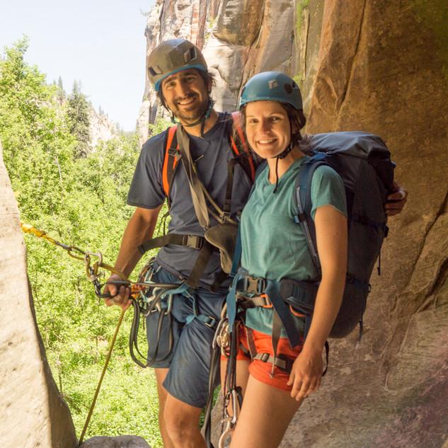 Couples Canyoneering