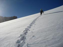 Climbing Mt. Cook