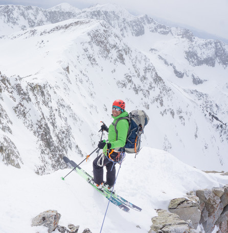 Steep terrain requires specific considerations