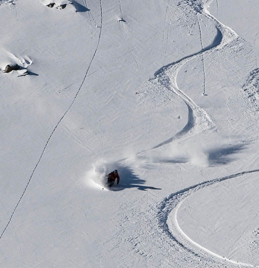 A Skier Rolls the Dice