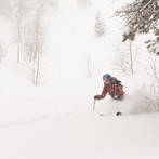 Powder Skiing