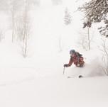 Uinta Yurt Skier