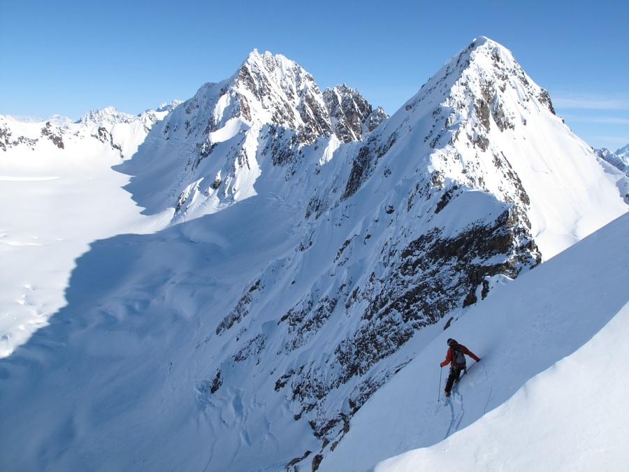 Entering the glory of Alaska