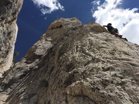 Hellgate Cliffs, Little Cottonwood Canyon, Alta.