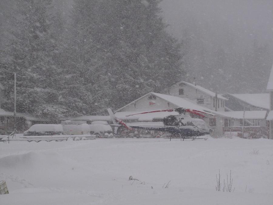 Snow at Base, Cordova