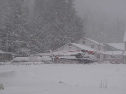 Snow at Base, Cordova