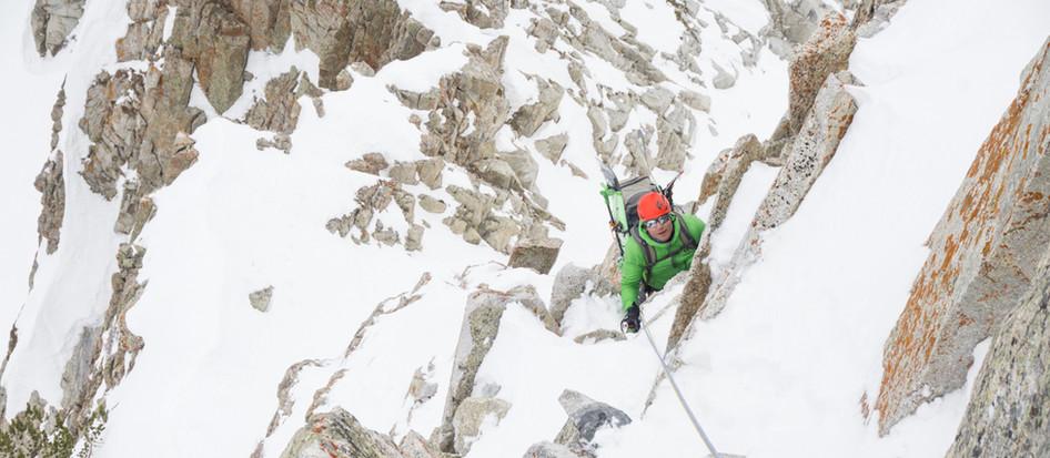 Techincal Winter Climbing