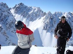 Thumbs Range heli-skiing