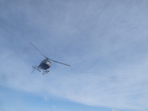 In bound helicopter