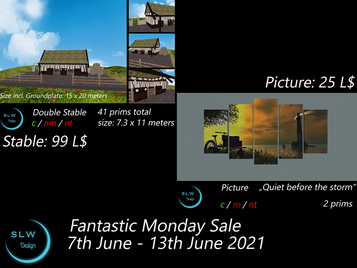 SLW Design - Fantastic Monday Sale