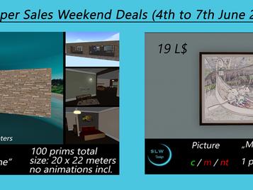 SLW Design - Weekend Deals 04.-07.Juni 2021