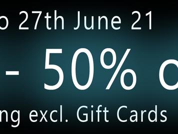 SLW Design - 50% off auf alles (außer Giftcards)