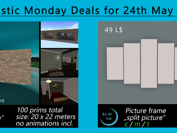 SLW Design - Fantastic Monday Deals (24. Mai 2021)