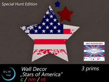 SLW Design - Star Spangled Hunt