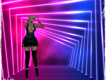 Pearl's Treasure Chest - PTC Dress Adele black