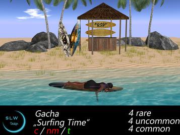 SLW Design - Surfing Time GACHA