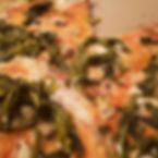 One of our delicious Vegan pizzas, with
