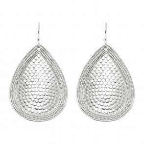 Anna Beck Dotted Earrings Silver