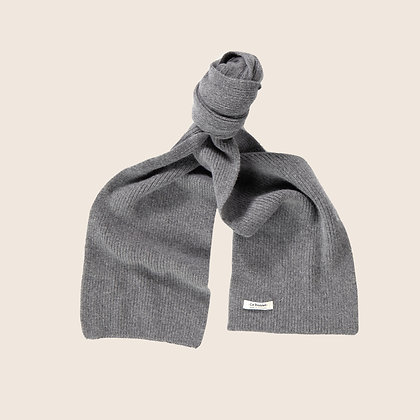 Le Bonnet Scarf - Slate Grey