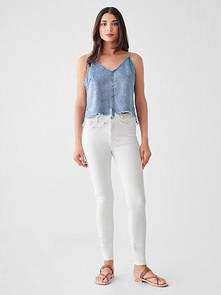 DL1961 White Jeans