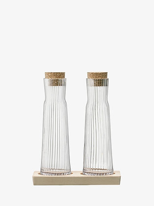 LSA Bottle Set and Cork Stoppers