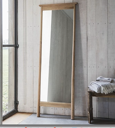 Oak Full length Mirror
