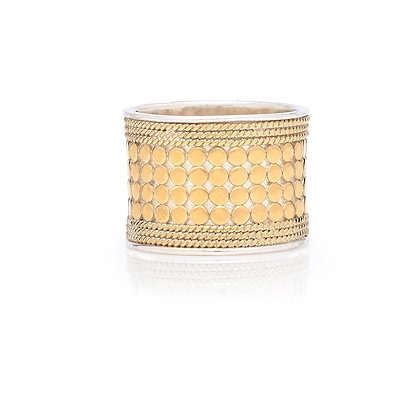 Anna Beck Classic Band Ring - Gold