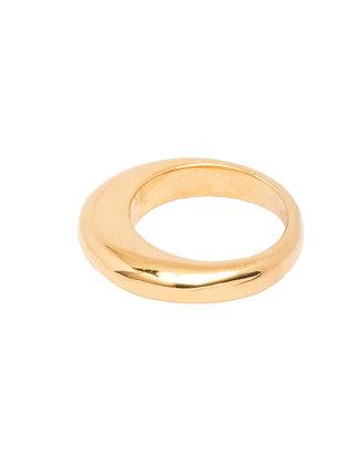 Tilly Sveaas Gold Slice Ring