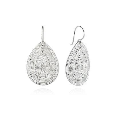 Anna Beck Teardrop Earrings - Silver