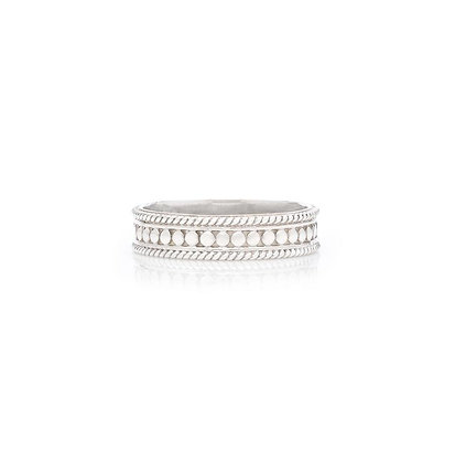 Anna Beck Stacking Ring - Silver