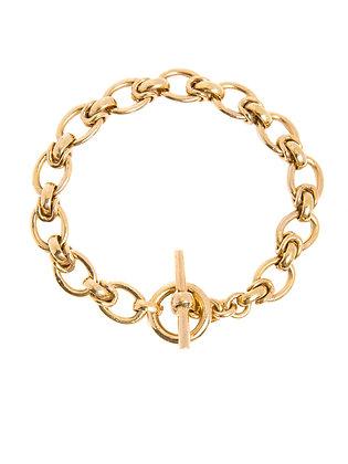 Tilly Sveaas Small Interlock Link Bracelet - Gold