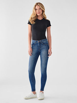 DL1961 Ankle Mid Rise Jeans - Parker