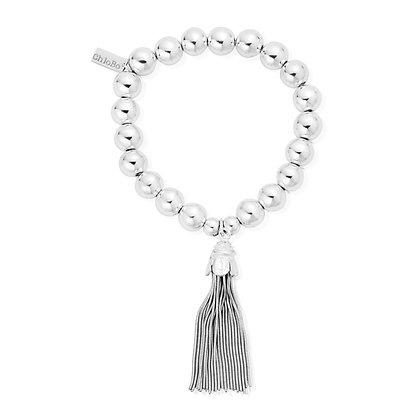 Chlobo Medium Ball Tassel Bracelet