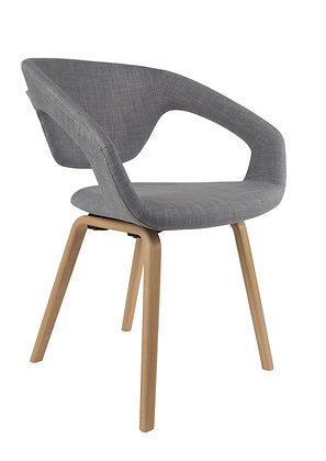 Flexible back chair