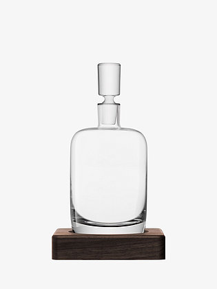 LSA Decanter and Walnut Base