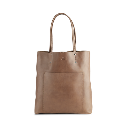 Antonella Shopper, Antique - Caramel