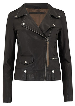 MDK Leather Jacket Black