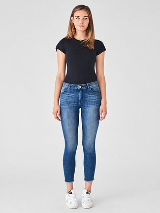 DL1961 Mid Rise Jeans - Stranded
