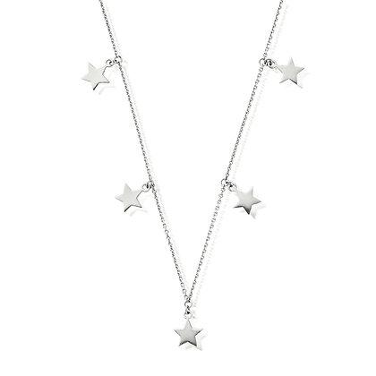 Chlobo Multi Star Necklace