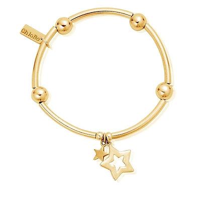 Chlobo Noodle Ball Double Star Bracelet