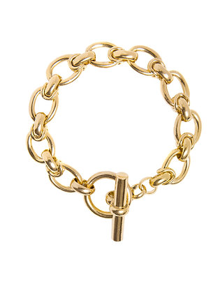 Tilly Sveaas Medium Interlock Bracelet - Gold